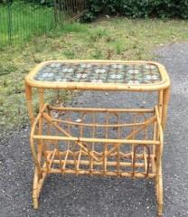 Bambusbord med fin plade