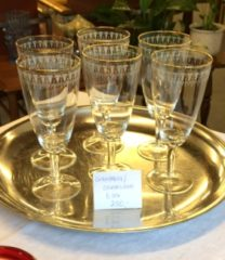 Kongeå champagneglas