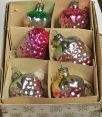 Gammel glaspynt, juletræspynt