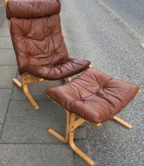 Ingmar Relling Siesta stol og skammel